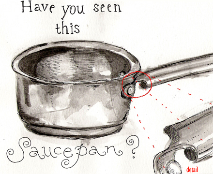 have you seen my pot?